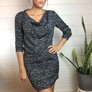 GAP Ruched Open Neck, Holiday Party Dress